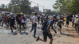 U.N. Condemns Violence In Myanmar
