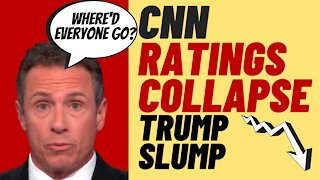CABLE NEWS Ratings Collapse Under Trump Slump