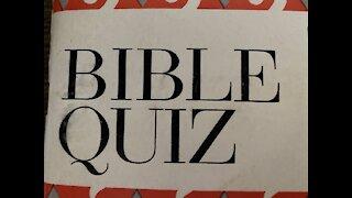 Bible Quiz 1 ⭐️