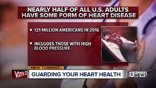 Las Vegas woman urges people to improve habits to improve heart health