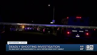 4 killed, 1 wounded in shooting in Phoenix home, police say