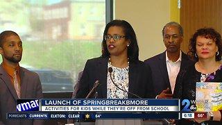 Baltimore City announces Spring Break Bmore
