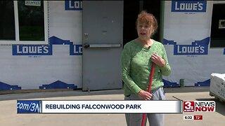 Rebuilding Falconwood Park