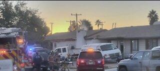 Fire near Lake Mead & Decatur | Breaking news
