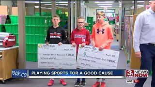 Playing Sports for a Good Cause