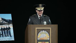 Boulder Police Chief Maris Herold: Officer Talley died a hero