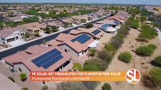 PE Solar: You could get 12 months of free solar!