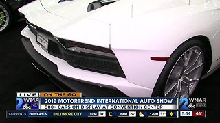 On the Go: Motortrend International Auto Show