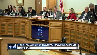 Republicans advance plan to weaken incoming Democrats