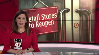 Local retail stores planning ahead for reopening