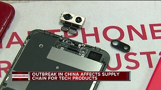 Coronavirus outbreak in China affecting supply chain for tech products
