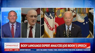Body Language Expert Reveals What He Believes Are Telling Signs From President Joe Biden - 2350