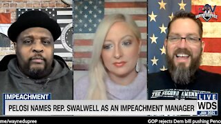 Pelosi names Rep. Swalwell as an Impeachment Manager