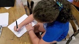 South Florida girl, 9, pens letter to Joe Biden, Kamala Harris