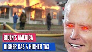 JOE BIDEN'S PLAN TO LOWER GAS PRICES: HIGHER TAXES!