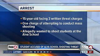 Student arrested for threatening students in Lee County