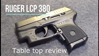 Ruger LCP 380 ACP Pistol - Tabletop Review - Episode #202002