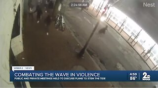 Combating the wave of violence