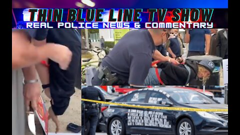 LAPD Disarms Crazy Knife Lady, Dems In NYC Want More Police, LAPD Shoots Man After Car Rammed Them