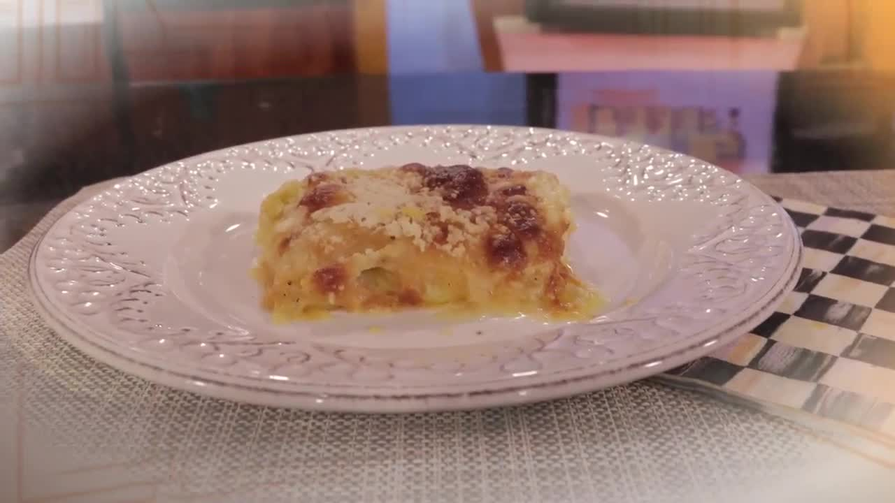What's for Dinner? - Three Cheese Garlic Scalloped Potatoes