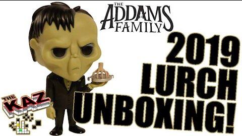 Lurch (2019) 'Addams Family' CG movie Funko Pop unboxing