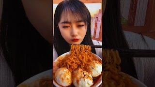 ASMR China Eating Challenge TikTok
