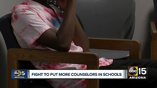 Fight to put more counselors in school