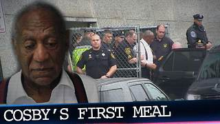 What's Bill Cosby's First Meal Behind Bars?!! Find Out What He's Eating!
