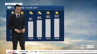 23ABC Evening weather update May 3, 2021