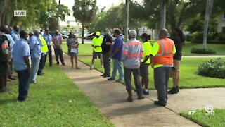 Union workers upset with pay raises for Delray Beach commissioners