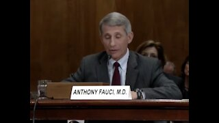 Fauci's Opening Statement To Congress 2012 On The Risk Of Dual Research (Gain of Function)
