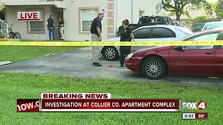 Shooting investigation at apartment complex in Naples
