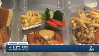 Local business remains open, Colin's Seafood & Grill offering carryout