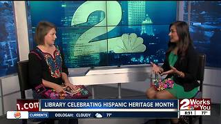 Special guest previewing block party to celebrate Hispanic Heritage Month