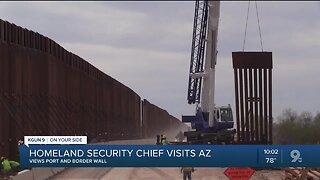 Acting DHS Secretary tours Southern AZ