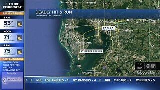 Motorcyclist killed in hit-and-run crash in St. Pete