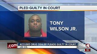 Accused drug dealer pleads guilty