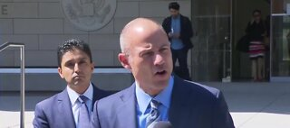 Michael Avenatti being released from jail