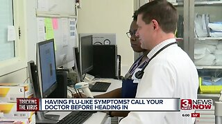 Having flu-like symptoms? Call your doctor before heading in