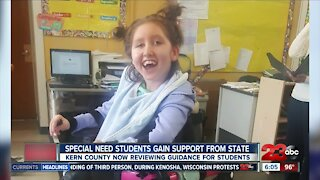 Special need students gain support from state