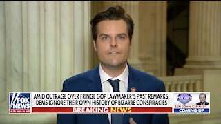Gaetz offers to resign House seat to represent Trump in impeachment trial