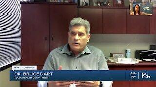 Dr. Bruce Dart addresses rising coronavirus cases