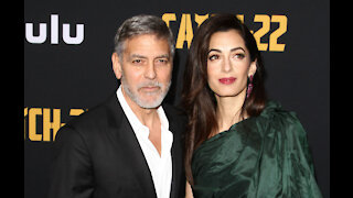 George Clooney thinks Amal Clooney would make a great President