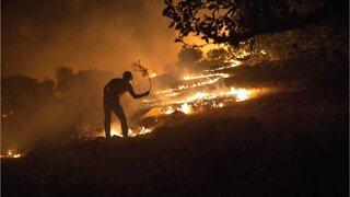 Evacuations After Fireworks Wildfire In Utah