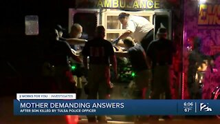 Mother demanding answers after son killed by Tulsa police officer