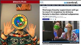 AZ: Maricopa County REFUSES SUBPOENA, Declines To Prove Election Validity