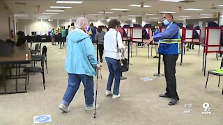 How are people in nursing homes casting their ballot?