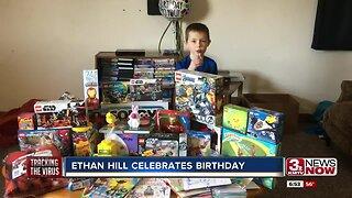 Iowa boy born with half a heart receives a birthday surprise