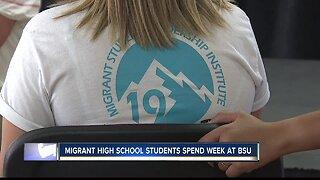 Migrant high school students spend week at BSU
