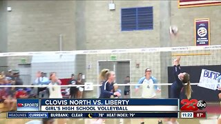 Liberty High School volleyball defeats Clovis North